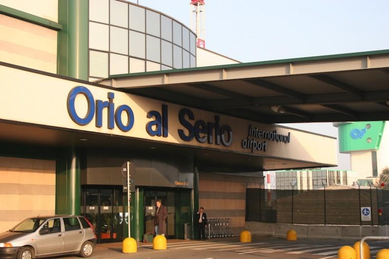 аэропорт бергамо
