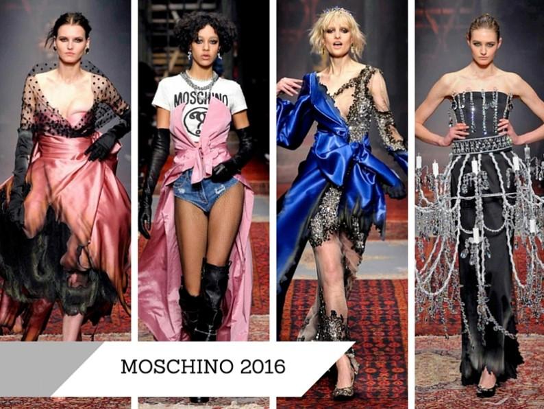 Коллекция moschino