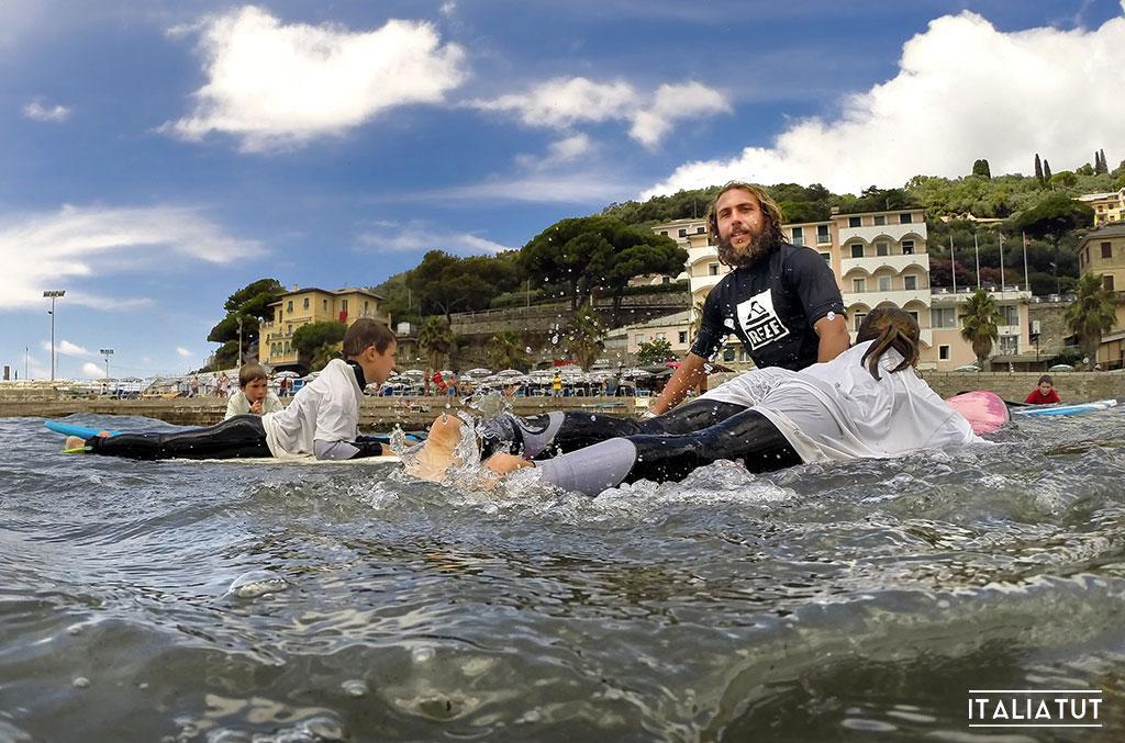 серфинг в италии