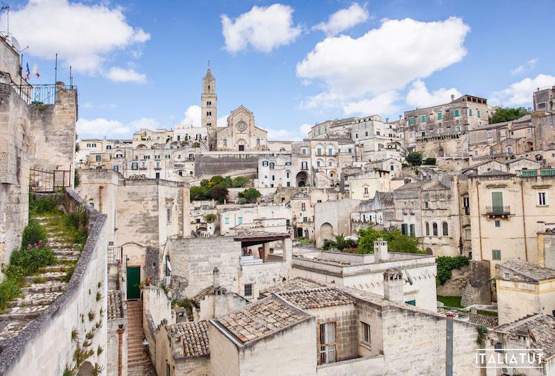 итальянские города, матера