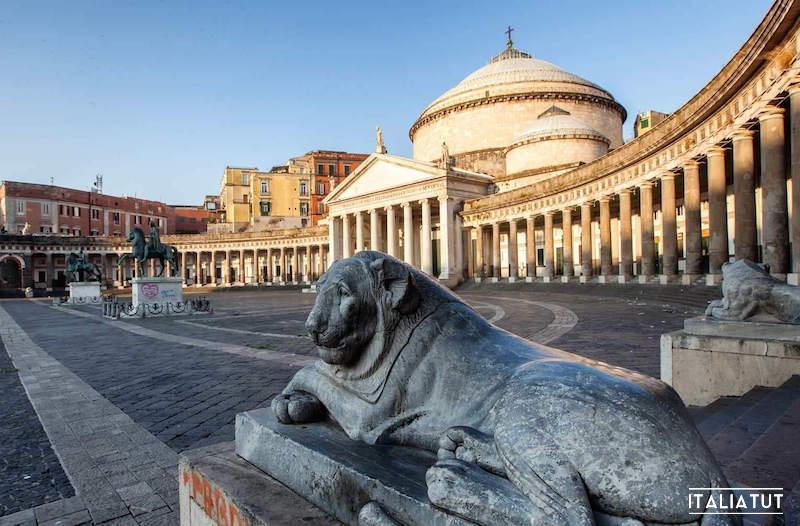 итальянские города, неаполь