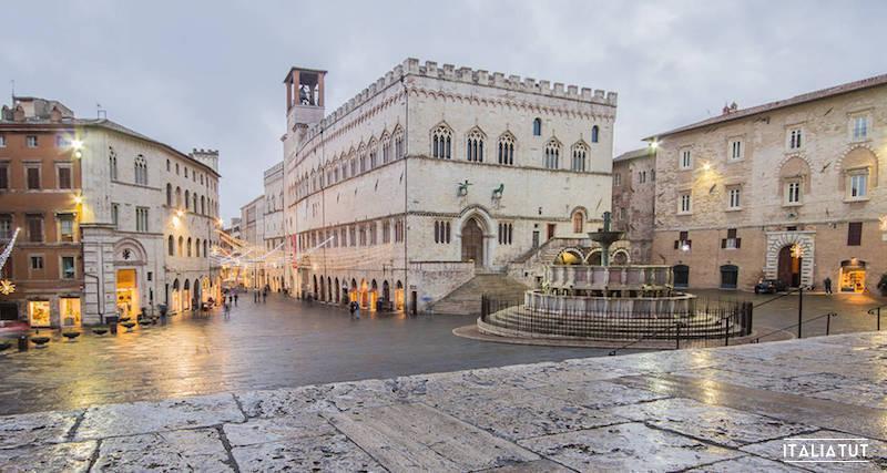 итальянские города, перуджа