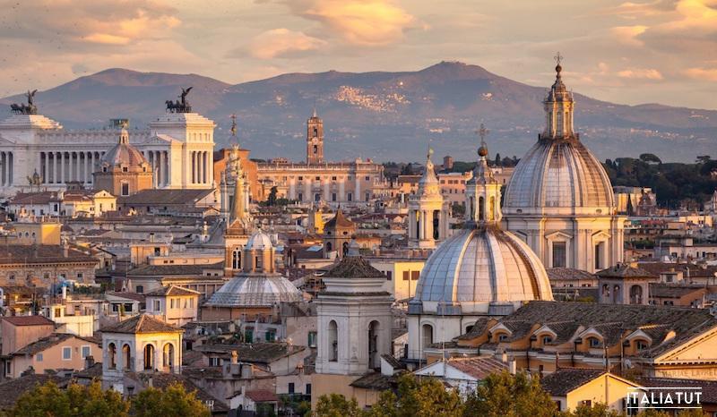 итальянские города, рим