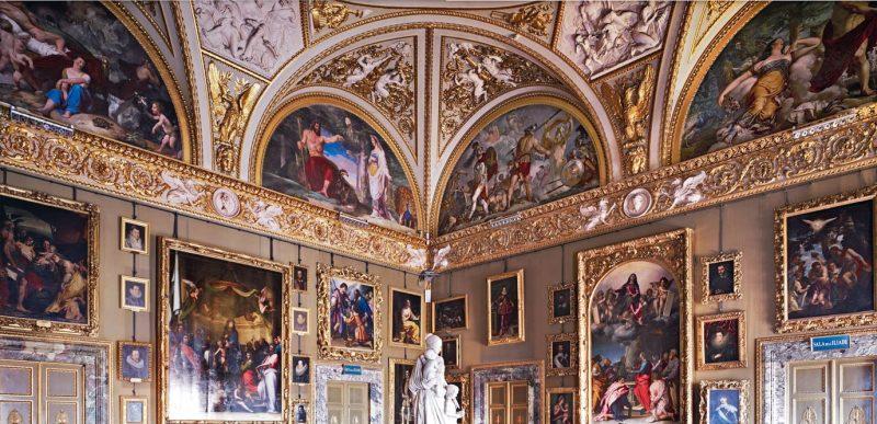 галерея дворца питти