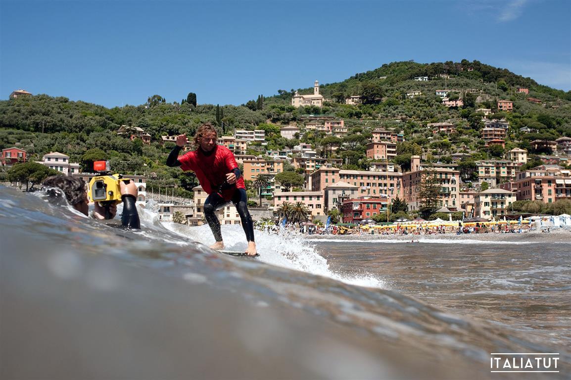 серфинг в италии, рекко