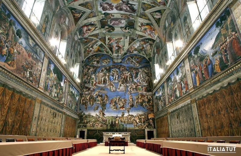 """the sistine chapel essay """"in the same way that a painter could reduce the human form or settings to a play of geometrical figures, so could the merchant simplify all things to geometr."""