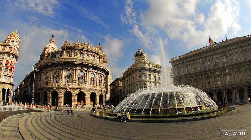 итальянские города, генуя