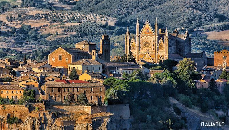 итальянские города, оривието