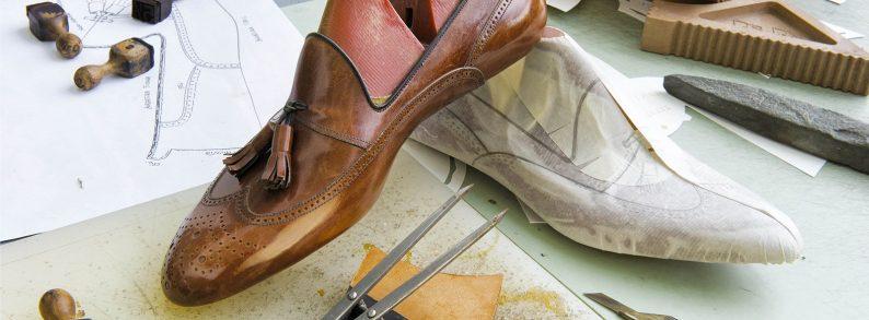 итальянская обувь из кожи