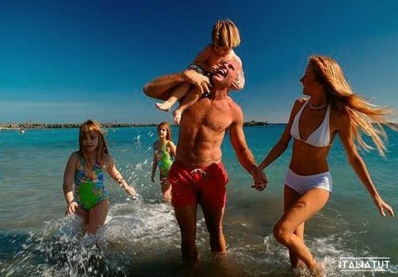 Италия отдых на море с детьми