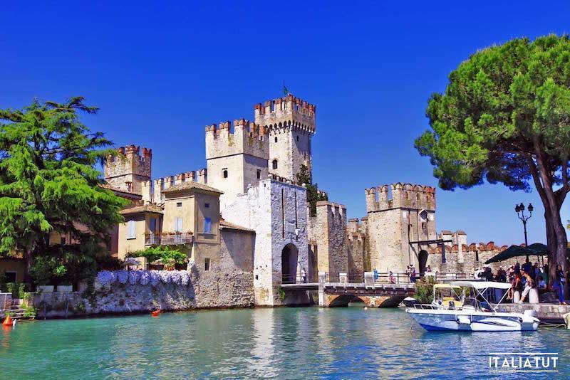 scenery of Italy series - Sirmione. Lago di Garda