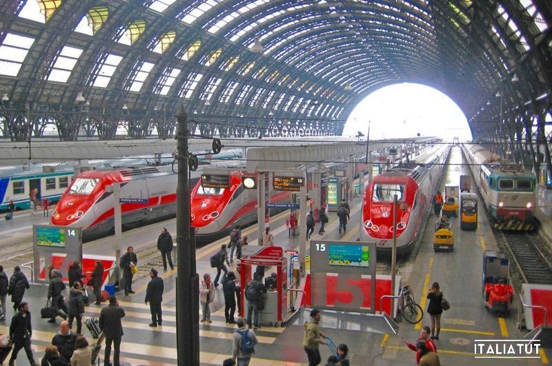 Купить билет на поезд в Италии, италия, италиятут, жд билет италия, trenitalia, italia, italiatut